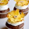 Thumbnail image for Ananas çiçekli cupcakeler