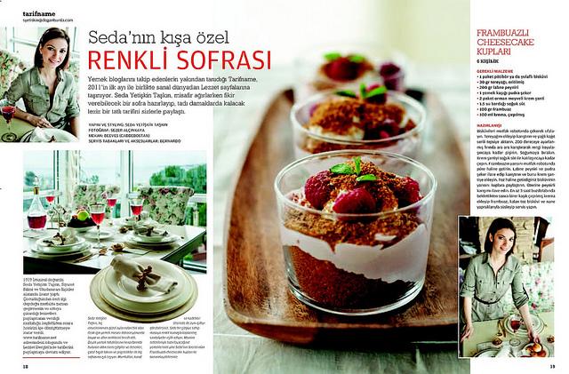 Post image for Tarifname, Lezzet Sayfalarında…