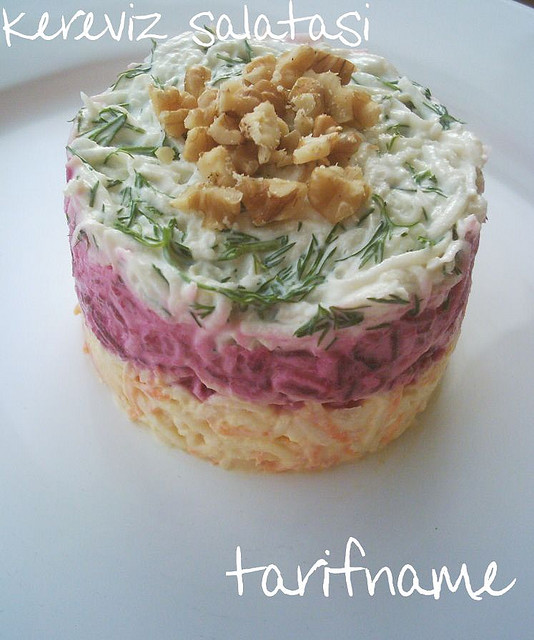 Post image for Kereviz Salatası