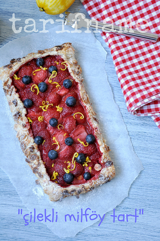 Post image for Çilekli Milföy Tart