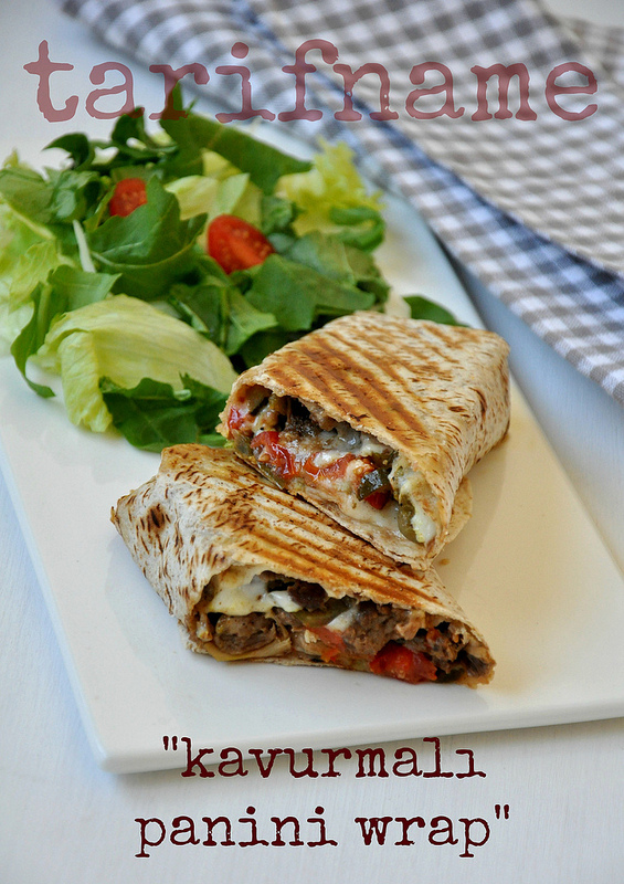 Post image for Kavurmalı Panini Wrap