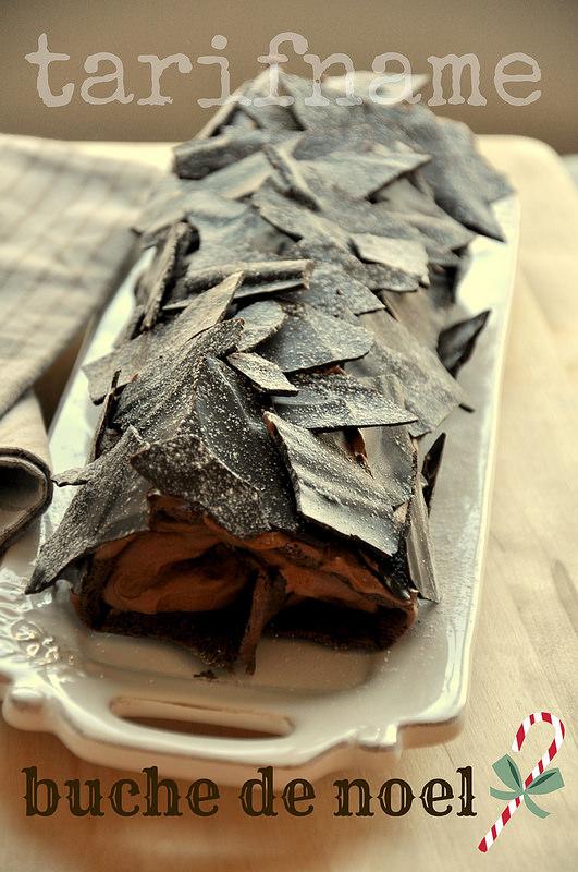 Post image for Yılbaşı Pastası – Buche de Noel