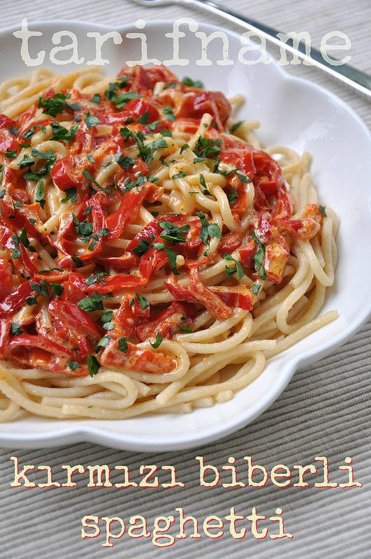Post image for Kırmızı Biberli Spaghetti