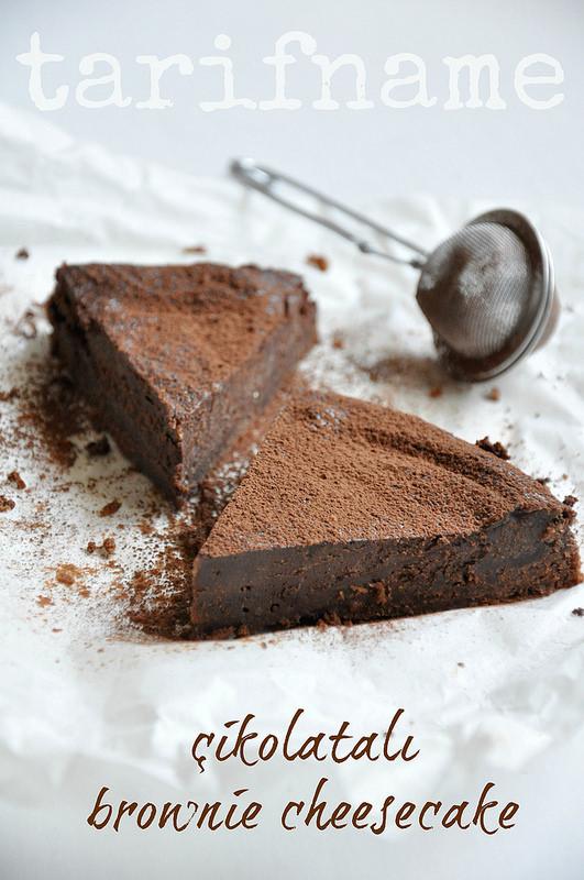 Post image for Çikolatalı Brownie Cheesecake