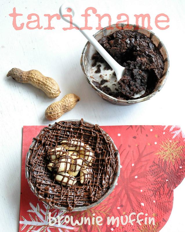 Post image for Yer Fıstıklı Brownie Muffin