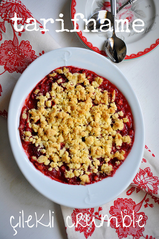 Post image for Çilekli Crumble