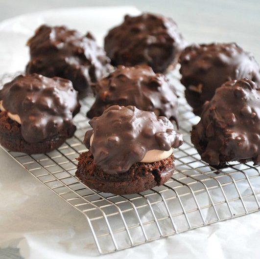 Kremalı Brownie Lokmaları